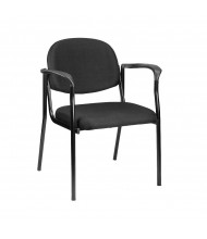 Eurotech Dakota 8011 Fabric Low-Back Guest Chair (Shown in Black)