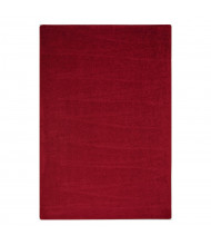 Joy Carpets Endurance Solid Color Classroom Rug, Burgundy