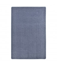 Joy Carpets Endurance Solid Color Classroom Rug, Glacier Blue