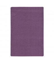 Joy Carpets Endurance Solid Color Classroom Rug, Purple