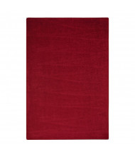 Joy Carpets Endurance Solid Color Classroom Rug, Burgundy