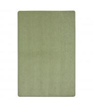 Joy Carpets Endurance Solid Color Classroom Rug, Sage