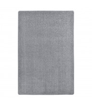 Joy Carpets Endurance Solid Color Classroom Rug, Silver