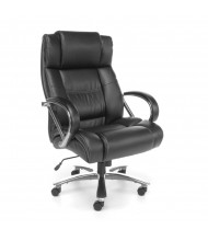 OFM Avenger 810-LX Big & Tall 500 lb. Leather High-Back Executive Office Chair (in black)