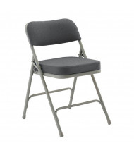 "KFI Seating 8200-GY Fabric 2"" Padded Seat Steel Folding Chair (Shown in Grey)"
