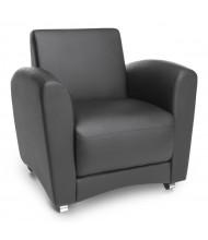 OFM InterPlay Vinyl Club Chair (Shown in Black)