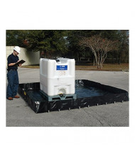 "Ultratech Ultra-Containment 8261 Economy 10 ft. x 10 ft. x 13"" H Copolymer 2000 Containment Berm (8 ft. x 8 ft. shown)"