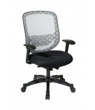 Office Star DuraFlex Flow-Through Mesh Mid-Back Task Chair (Model 829-3R1C728P)