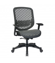 Office Star Space Seating Big & Tall 300 lb. DuraFlex Mesh Mid-Back Executive Office Chair (Shown in Charcoal)
