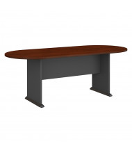 Bush 7 ft Racetrack Conference Table (Shown in Hansen Cherry)