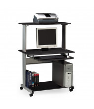 """Mayline Eastwinds 8350MR 36.75"""" W Steel Laminate Mobile Multimedia Computer Workstation (Shown in Anthracite)"""