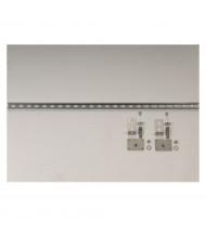 Just-Rite 84000 Seismic Bracket Wall or Floor Adapter Kit