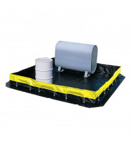 Ultratech Ultra-Containment Collapsible Wall Copolymer 2000 Polyester Spill Containment Berms (4 ft. x 6 ft.; color may vary)