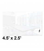 Best-Rite 84182 Luxe 4.5 x 2.5 Magnetic Glass Whiteboard