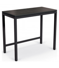 "Mooreco Essentials 48"" W x 24"" D Stand Up Desk (Shown in Black / Black)"