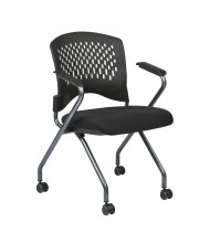 Office Star 2-Pack Deluxe FreeFlex Fabric Nesting Folding Chair (Model 84330-30)