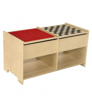 Wood Designs LEGO Brick and Checkerboard Activity Table