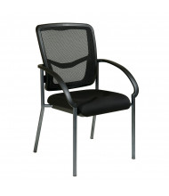 Office Star ProGrid Mesh-Back Fabric Mid-Back Guest Chair