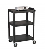 Balt 85892 Height Adjustable Utility AV Cart (example of use)