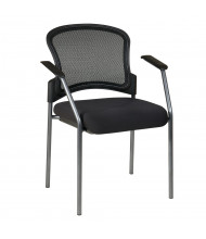 Office Star Pro-Line II ProGrid Mesh-Back Fabric Stacking Guest Chair