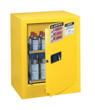 Justrite Sure-Grip EX 890500 Countertop Flammable Storage Cabinet, 24 Aerosol Cans