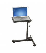 Balt Lap Jr 89819 Adjustable Height Mobile Laptop Stand (example of use)
