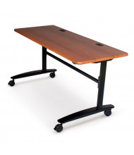 "Balt Lumina 72"" W x 24"" D Nesting Flipper Training Table"