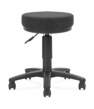 OFM Utilistool 902 Fabric Seat Utility Stool (Shown in Black)