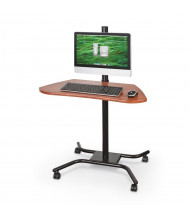 "Balt WOW Flexi-Desk Lever 42"" Height Adjustable Mobile Workstation (Does not include computer components)"