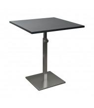 Balt 90353 Height Adjustable Square Bistro Table