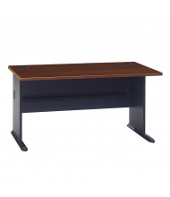 "Bush Series A WC90460A 60"" W Straight Front Office Desk"