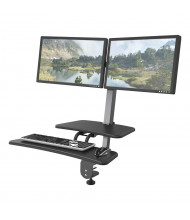 Balt Up-Rite 90531 Dual Monitor Sit-Stand Converter Desk Mount