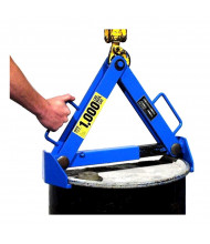 "Morse 92 Series 1000 lb Load Rimmed 15"" to 23"" Dia. Below-Hook Drum Lifter"