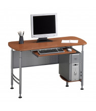 "Mayline Santos 925 47.25"" W Laminate Computer Workstation Desk (Shown in Medium Cherry)"