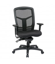 Office Star Multifunction ProGrid Mesh-Back Fabric High-Back Managers Chair (Model 92892-30)