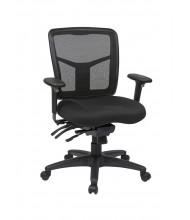 Office Star Multifunction ProGrid Mesh-Back Fabric Mid-Back Managers Chair (Model 92893-30)