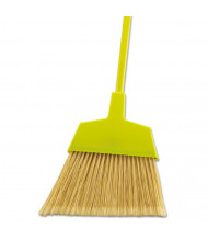 "Boardwalk 53"" L Angler Broom, Yellow, Pack of 12"