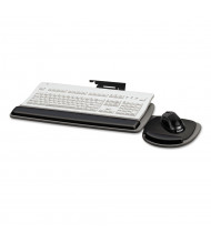 "Fellowes 17"" Track Standard Keyboard Tray, Black/Grey (Keyboard and mouse not included)"