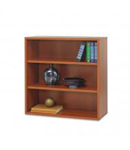 Safco Apres 9440CY 3-Shelf Open Laminate Bookcase in Cherry Finish