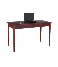 """Safco Apres 9446 48"""" W Straight Front Office Table Desk shown in Mahogany (MH)"""