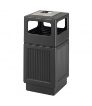 "Safco Canmeleon 38 Gal. 39.25"" H Ash Urn Polyethylene Cigarette Receptacle (Shown in Black)"