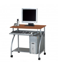 "Mayline Eastwinds Argo 947 31.5"" W Steel Laminate Mobile Computer Workstation (Shown in Medium Cherry)"
