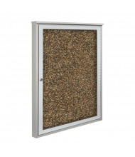 Best-Rite 94HAC2S-O-RT Weather Sentinel 1 Door 2' x 4' Rubber-Tak Outdoor Enclosed Cabinet - Shown in Tan