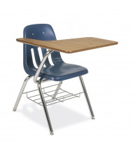 """Virco 25"""" x 20"""" Tablet Arm Combo Student Chair Desk"""