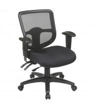 Office Star Pro-Line II ProGrid Mesh-Back Fabric Mid-Back Ergonomic Task Chair