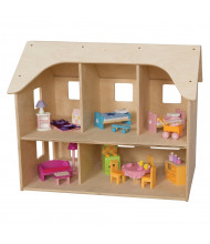 Wood Designs Doll House Dramatic Play Set