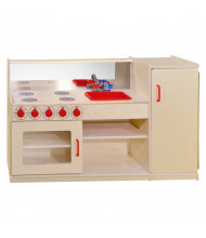 Wood Designs 4-N-1 Kitchenette Dramatic Play Set