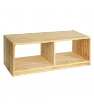 Wood Designs Outdoor Bench with Storage