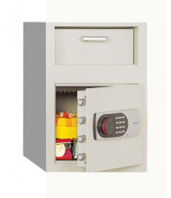 Phoenix 991E .80 Cubic Foot Front Loading Electronic Lock Depository Safe