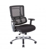 Office Star Pro-Line II Mesh-Back Fabric Mid-Back Computer Office Chair (Shown in Black)